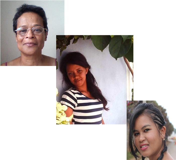 Portraits dassistantes virtuelles a Madagascar